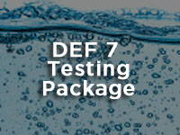 diesel exhaust fluid DEF testing package 2