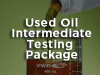 used recyceled fuel testing package image 2