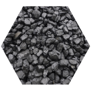 coal testing services hexagon image