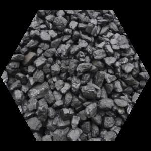 coal testing services hexagon image